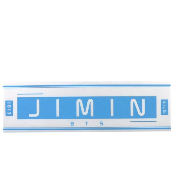 Kpop BTS Jimin Concert Hand Banner